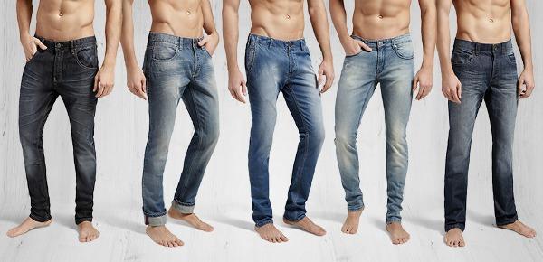 Collezione jeans uomo OVS autunno inverno 2013 2014