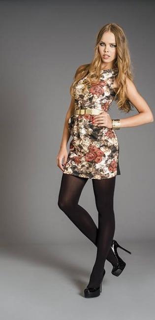 Borse Artigli Autunno Inverno : Abito a fiori artigli autunno inverno moda con