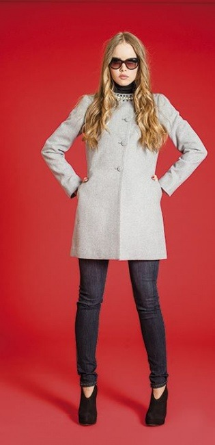 Borse Artigli Autunno Inverno : Cappottino artigli autunno inverno moda con