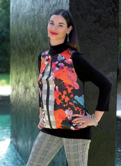 Maglia e pantaloni stampati Cannella autunno inverno 2014