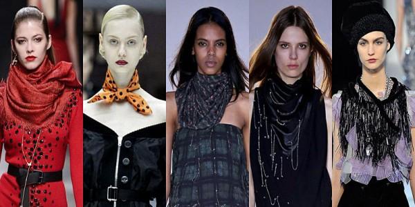 Sciarpe e foulard donna inverno 2014