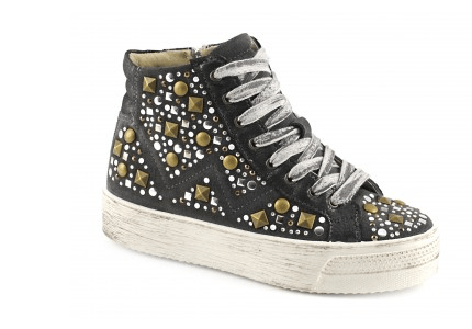 Sneakers con borchie Cafe Noir autunno inverno 2014