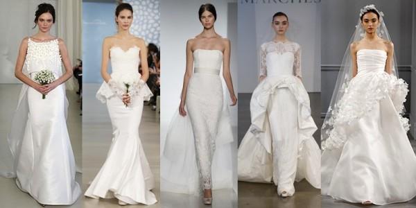 Abiti sposa 2016 tendenze vestiti da sposa primavera estate 2014 abiti con basco