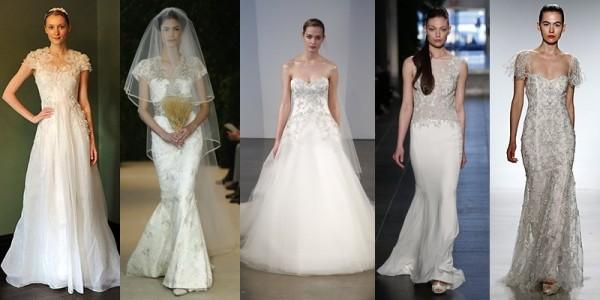Abiti sposa 2016 tendenze vestiti da sposa primavera estate 2014 abiti ricamati