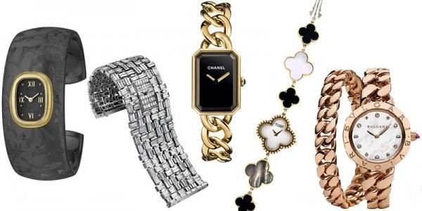 Orologi donna tendenze moda 2014 con bracciali