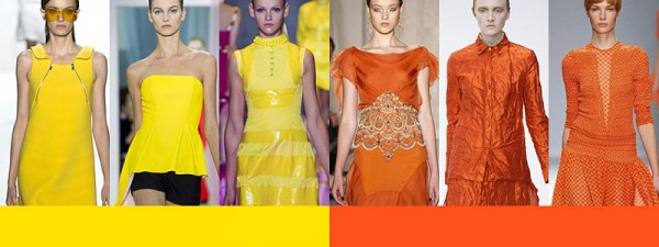 Tendenze moda primavera estate 2014 Colori moda donna giallo arancio
