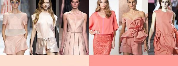 Tendenze moda primavera estate 2014 Colori moda donna rosa pesca