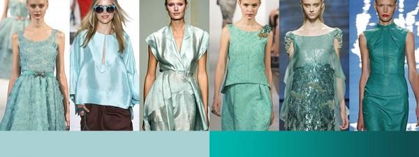 Tendenze moda primavera estate 2014 Colori moda donna verde