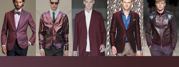 Tendenze moda primavera estate 2014 Colori moda uomo cigliegia