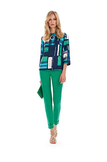 Camicia stampata Luisa Spagnoli primavera estate 2014