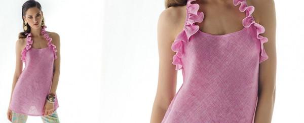 Nara Camicie primavera estate 2016 blusa con rouches