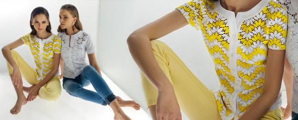 Nara Camicie primavera estate 2016 camicie in pizzo donna