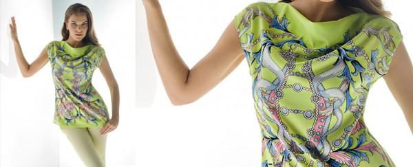 Nara Camicie primavera estate 2016 maglietta stampata