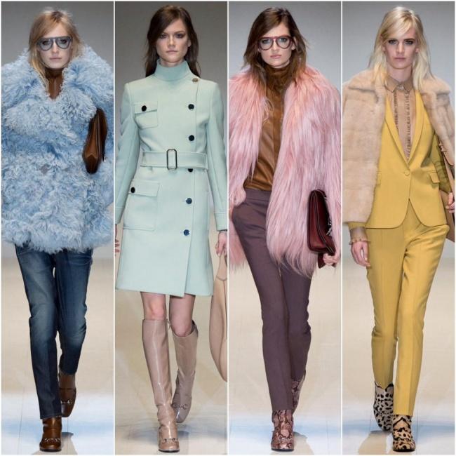 Collezione Gucci autunno inverno 2014 2015