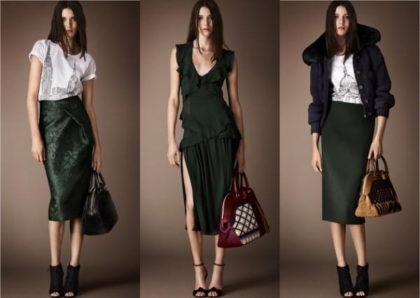 Abbigliamento Burberry Prorsum autunno inverno 2014 2015