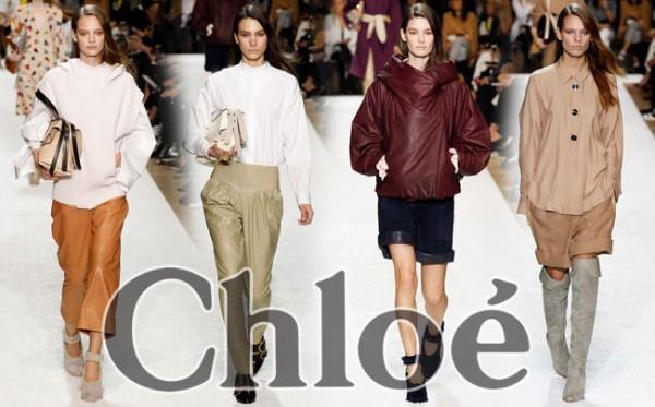 Abbigliamento Chloé autunno inverno 2014 2015