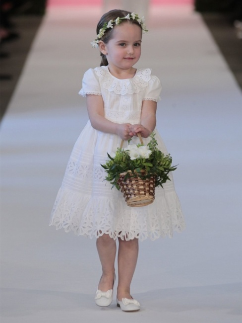 Vestiti damigella bambina 2015