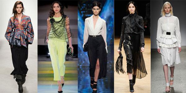 Camicie autunno inverno camicette alla moda con stile