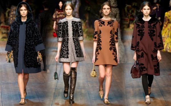 Catalogo Dolce & Gabbana autunno inverno 2014 2015