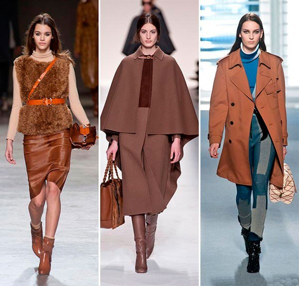 Tendenza colori autunno inverno 2014 2015 - Brandy Brown