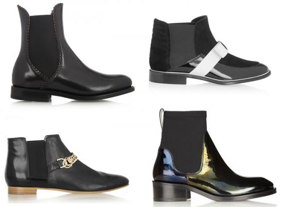 Stivaletti Chelsea Boots scarpe inverno