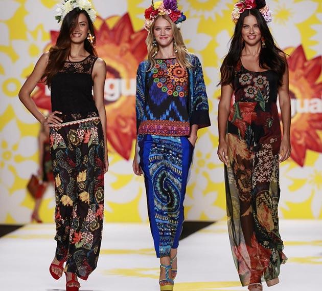 Abiti Eleganti Desigual.Desigual Primavera Estate 2015 Catalogo Abbigliamento Moda Con