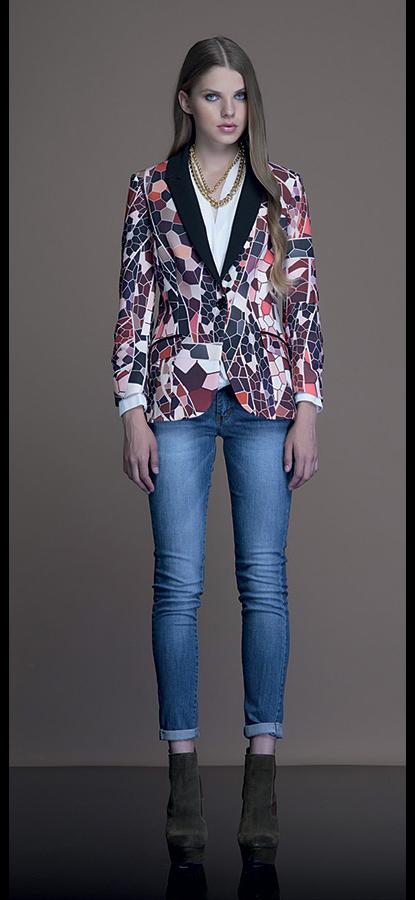 Borse Artigli Autunno Inverno : Giacca a fiori artigli autunno inverno moda