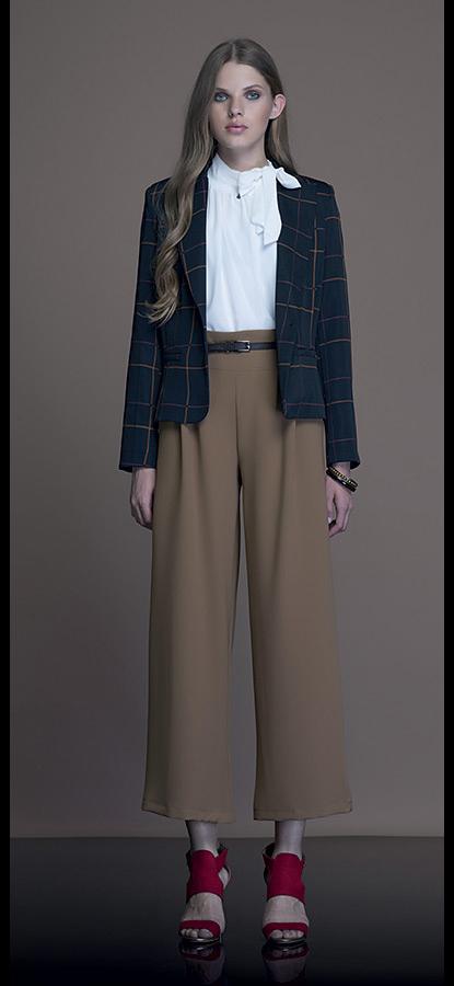 Borse Artigli Autunno Inverno : Pantalone largo artigli autunno inverno moda