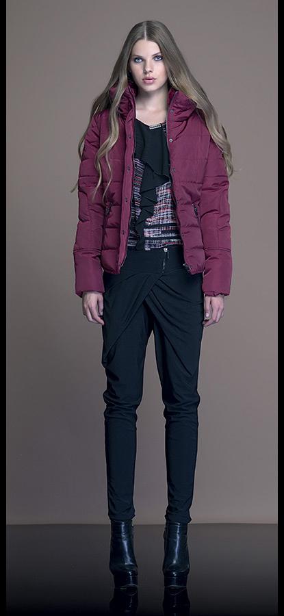 Borse Artigli Autunno Inverno : Piumino corto artigli autunno inverno moda con