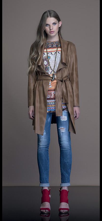 Borse Artigli Autunno Inverno : Spolverino artigli autunno inverno moda con