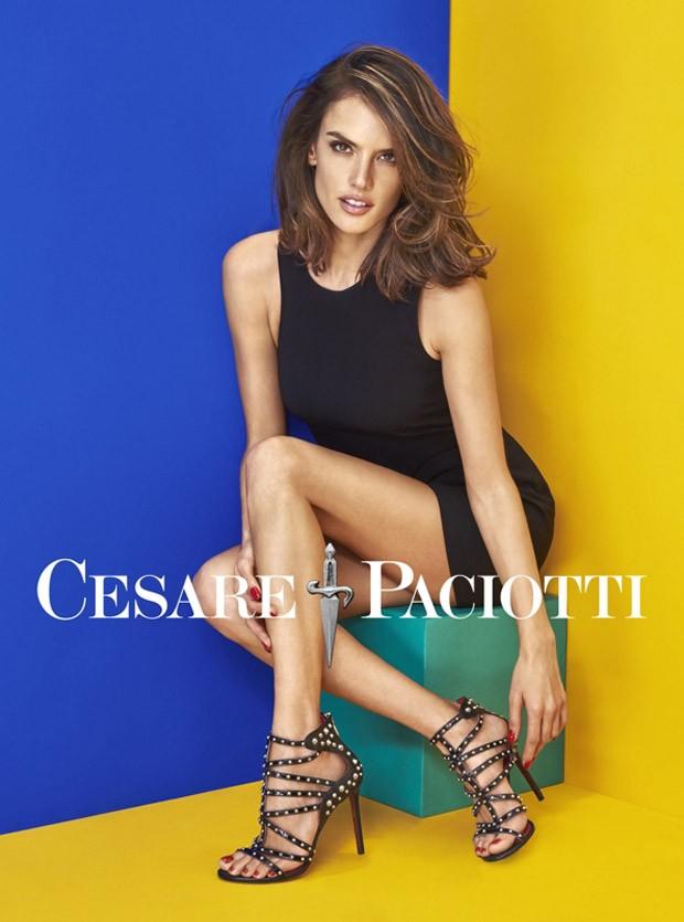 Alessandra Ambrosio Cesare Paciotti Spring Summer 2016