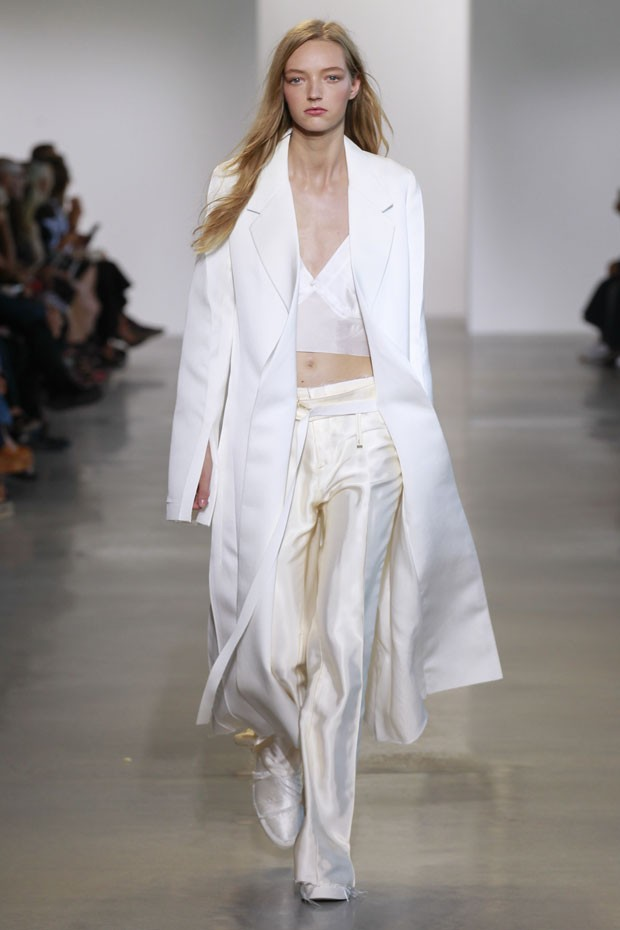Calvin Klein primavera estate 2016 pantaloni