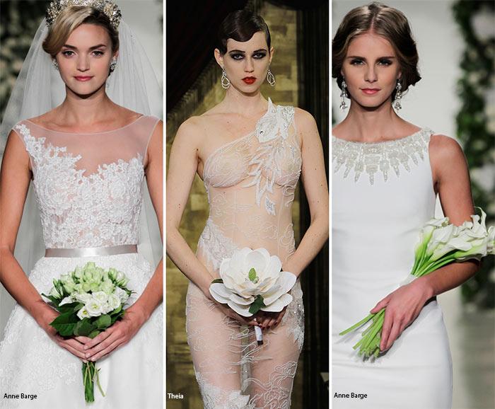 Bouquet sposa con Mazzi di fiori omogenei