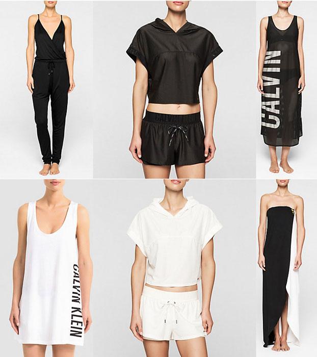 Calvin Klain Primavera Estate 2017 Abbigliamento Da Spiaggia