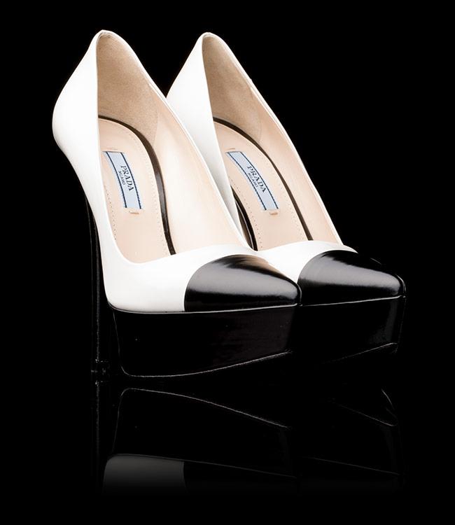 Collezione scarpe ballerine Prada autunno inverno 2013 2014 prezzo €520
