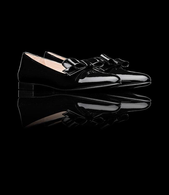 Scarpe ballerine lucide Prada autunno inverno 2013 2014 prezzo €490