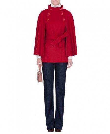 Cappa rossa Max & Co autunno inverno 2013 2014