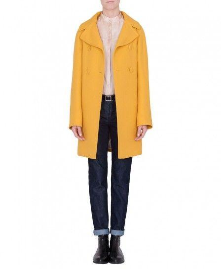 Cappotto giallo Max & Co autunno inverno 2013 2014