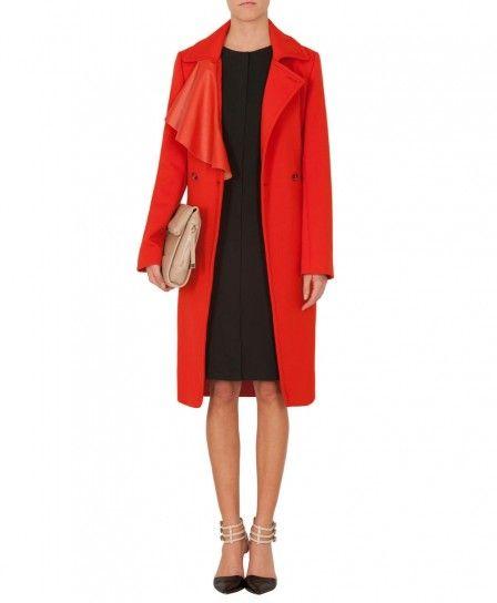 Cappotto rosso Max & Co autunno inverno 2013 2014