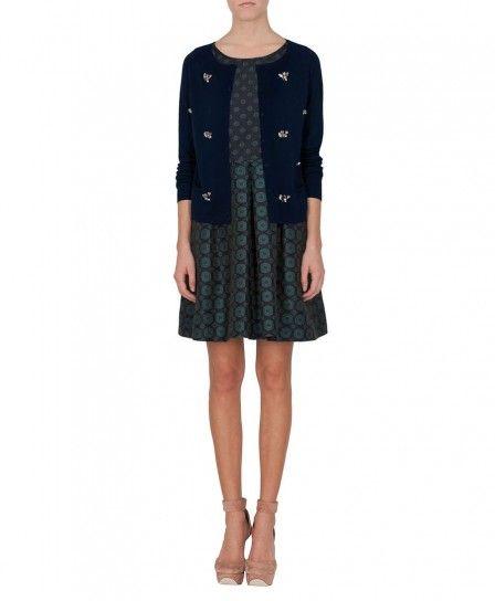 Cardigan in cashmere e minidress Max & Co autunno inverno 2013 2014
