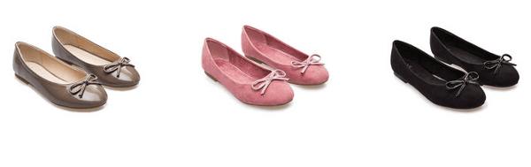 Collezione ballerine bambina scarpe OVS autunno inverno 2013 2014