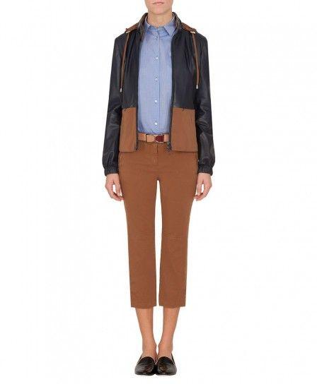 Giacca in denim e nylon Max & Co autunno inverno 2013 2014