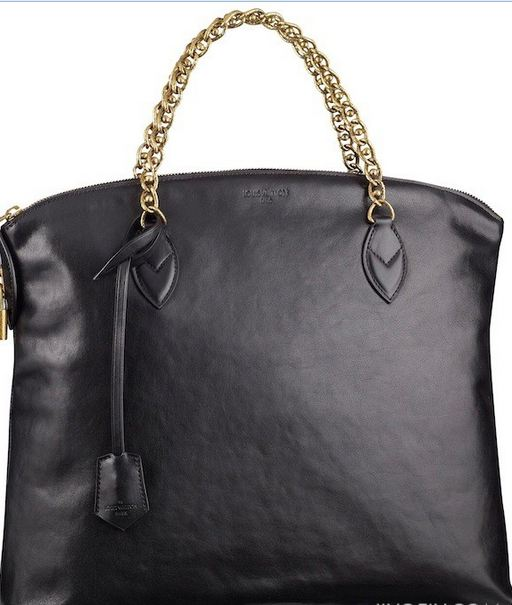 Lockit Louis Vuitton pelle nera
