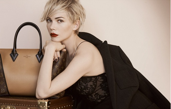 Michelle Williams Louis Vuitton autunno inverno 2013 2014