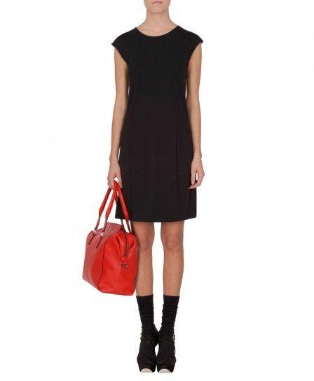Minidress in jersey nero Max & Co autunno inverno 2013 2014