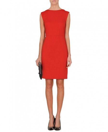 Minidress rosso Max & Co autunno inverno 2013 2014