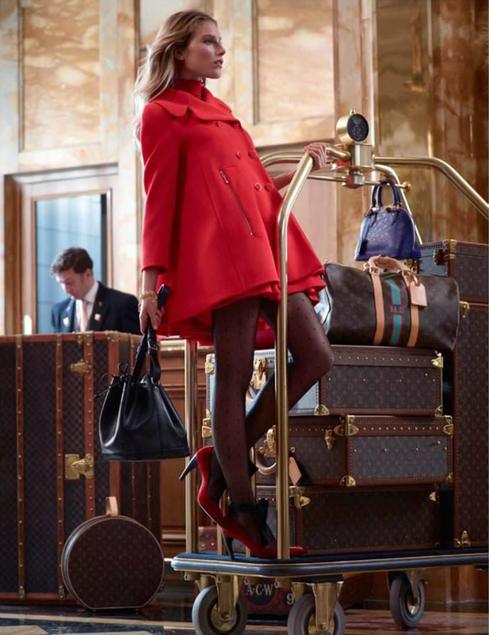 Secchiello Louis Vuitton autunno inverno 2013 2014