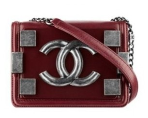 Bag Chanel bordeaux