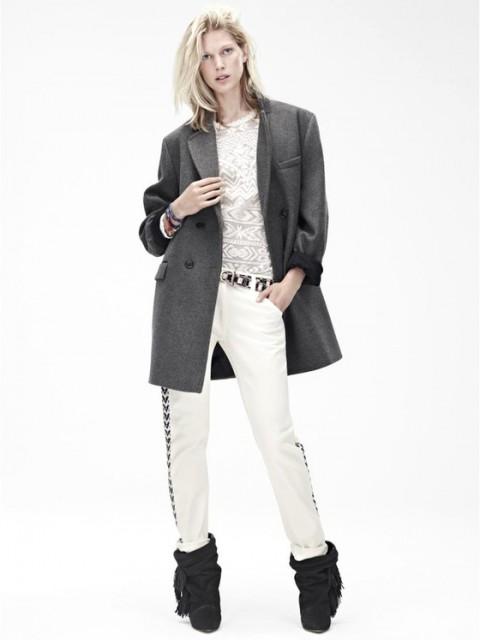 Blezer Isabel Marant per H & M
