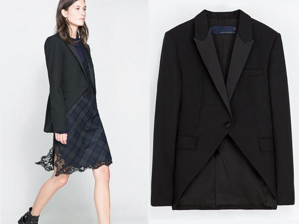 Blezer Zara autunno inverno 2013 2014